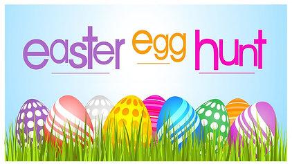 Easter Egg Hunt Potluck 2019