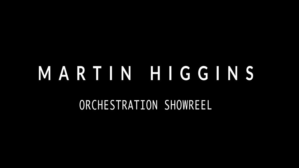 Martin Higgins - Showreel