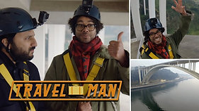 Richard Ayoade and Nish Kumar's Porto Bridge Climb | Travel Man: 48hrs in...Porto