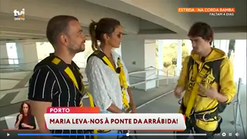 Você na TV: visita à Porto Bridge Climb
