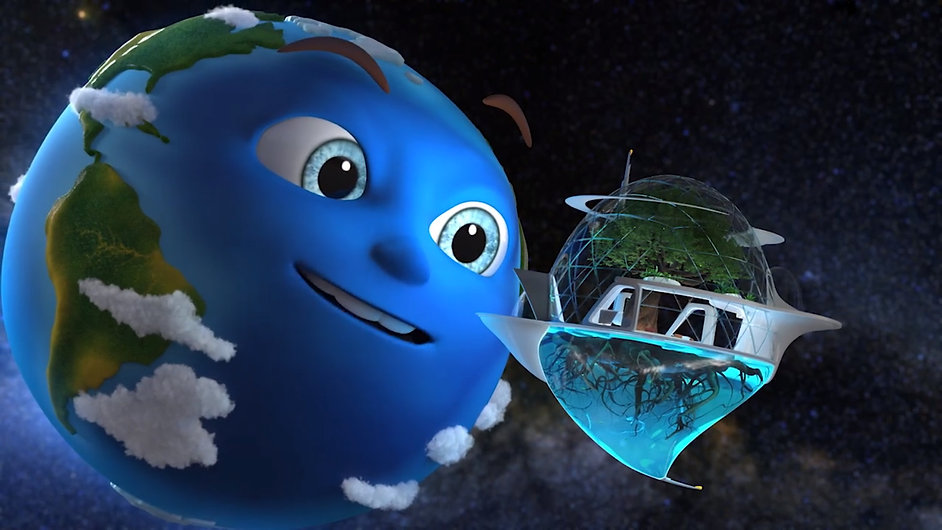 Planet Blue: The Voyage Animation Preview