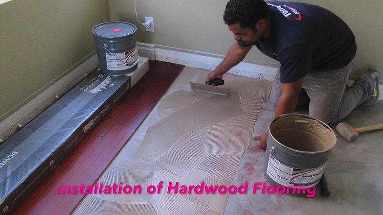 Tompkins Flooring Hardwood Installation