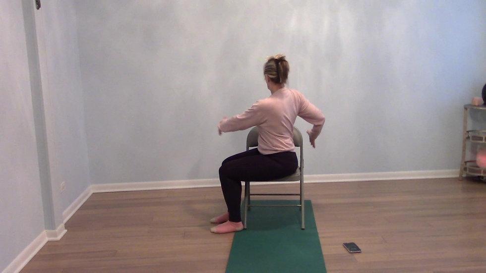 Chair Yoga w: Patty WPL