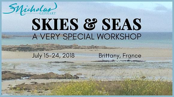 Brittany 2018 Plein Air Trip Pierre Guidetti Home