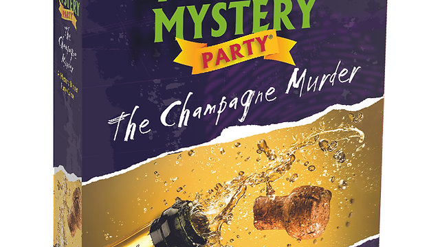 The Champagne Murder - Murder Mystery Party