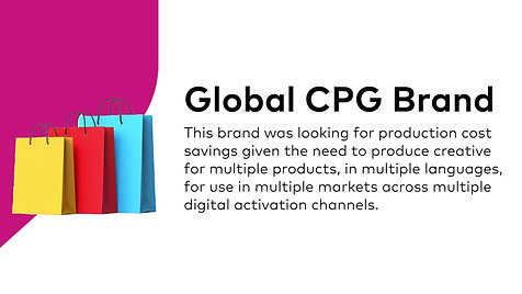Case - CPG - Reduced Production Costs
