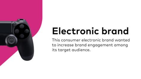 Case - Electronics - Brand Engagement