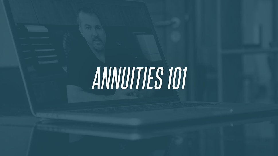 Annuities 101: Everything You Need to Get Started
