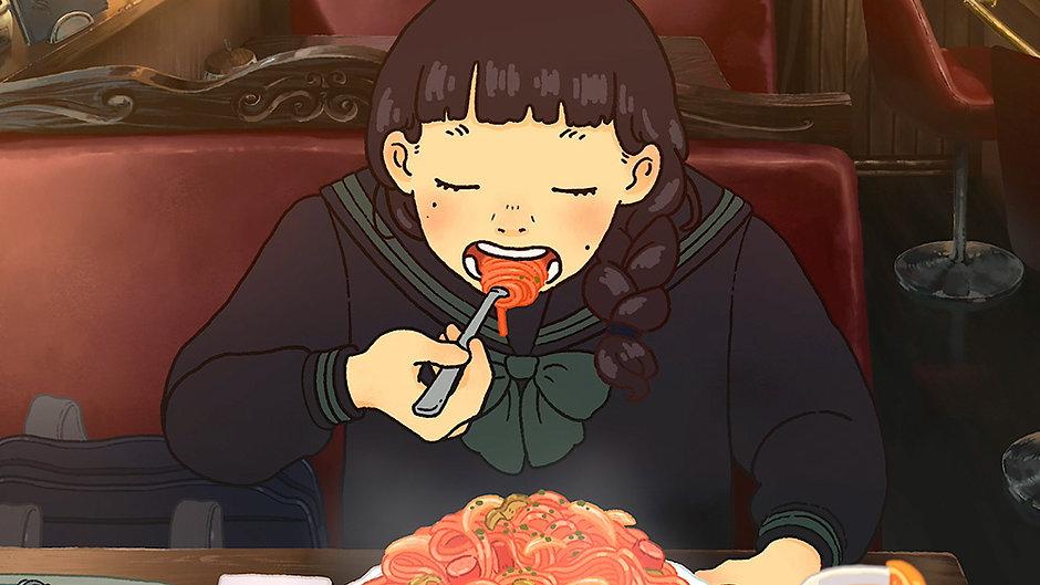 食べるアニメ
