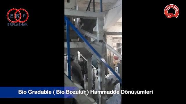 Bio Gradable (Bio Bozulur) Hammadde Dönüşüm Videoları