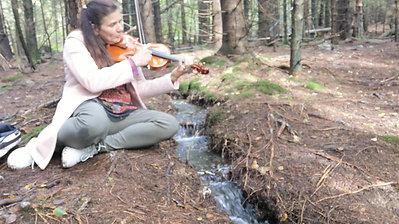 En musikalsk samtale med naturen