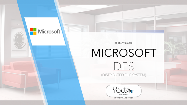 DFS Microsoft Failover Cluster