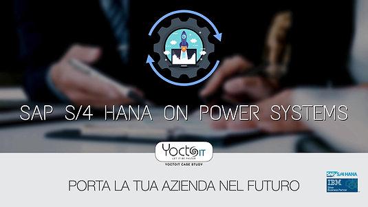 S/4HANA on IBM Powersystem - Porta la tua azienda nel futuro