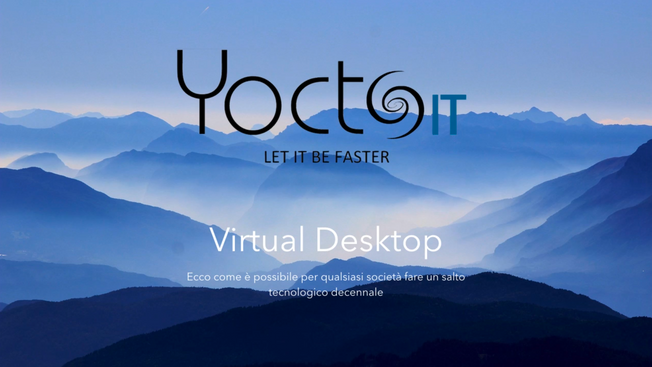 Desktop in cloud