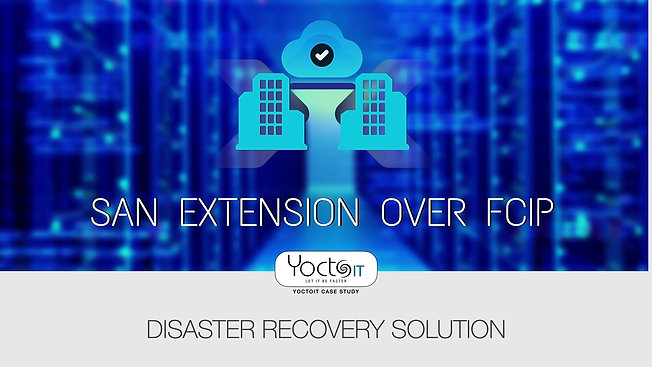 Estensione SAN Geografica - Disaster Recovery