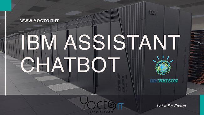 IBM WATSON Assistant - Chatbot