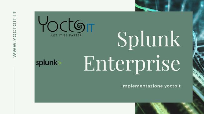 Implementazione Splunk Enterprise