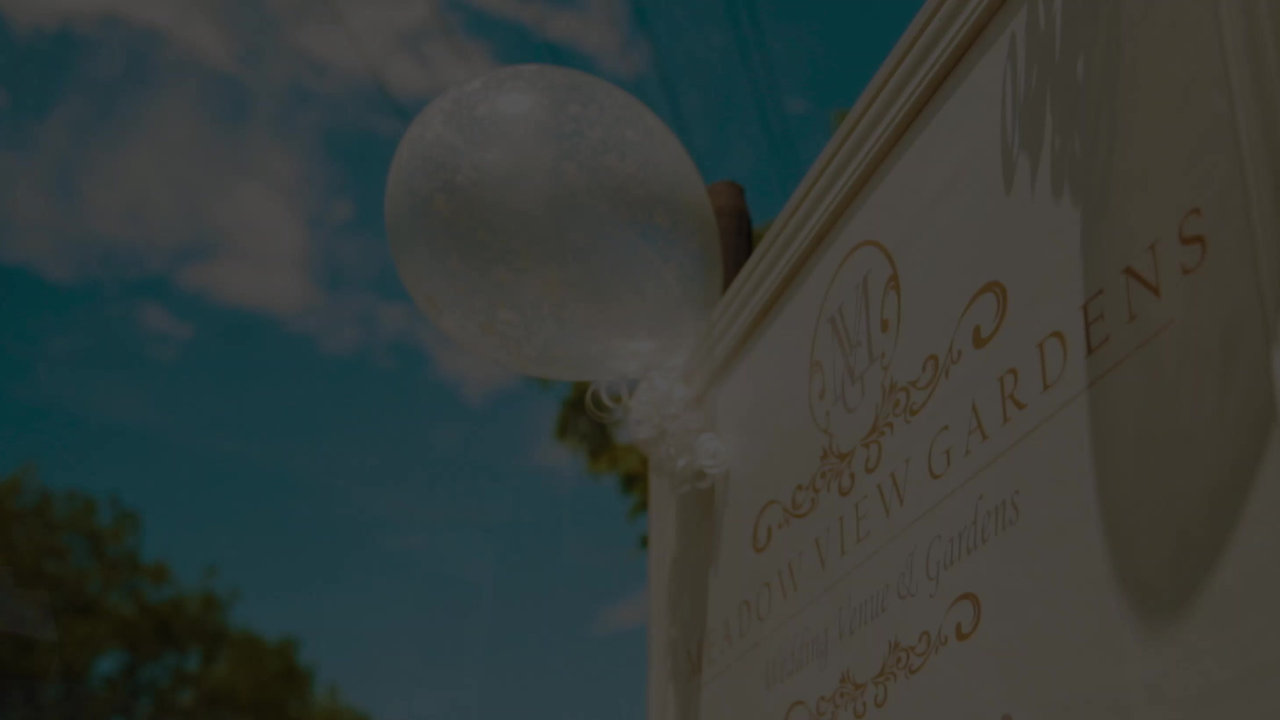 A Beautiful Video of a July Wedding at Meadow View Gardens