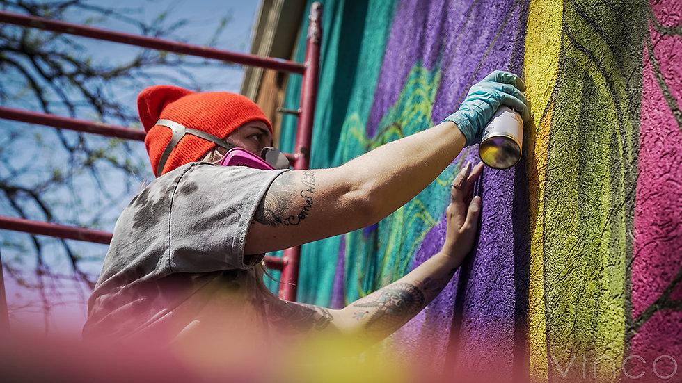 (sub)Urban Warrior #MuralsForMedicalRelief