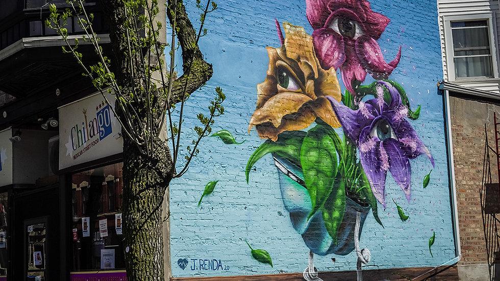 Joe Renda Jr. #MuralsForMedicalRelief