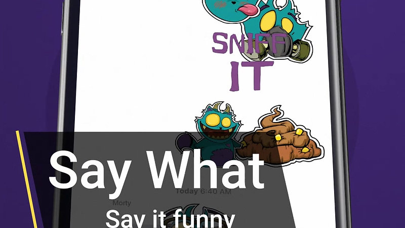 Say it with Stickers
