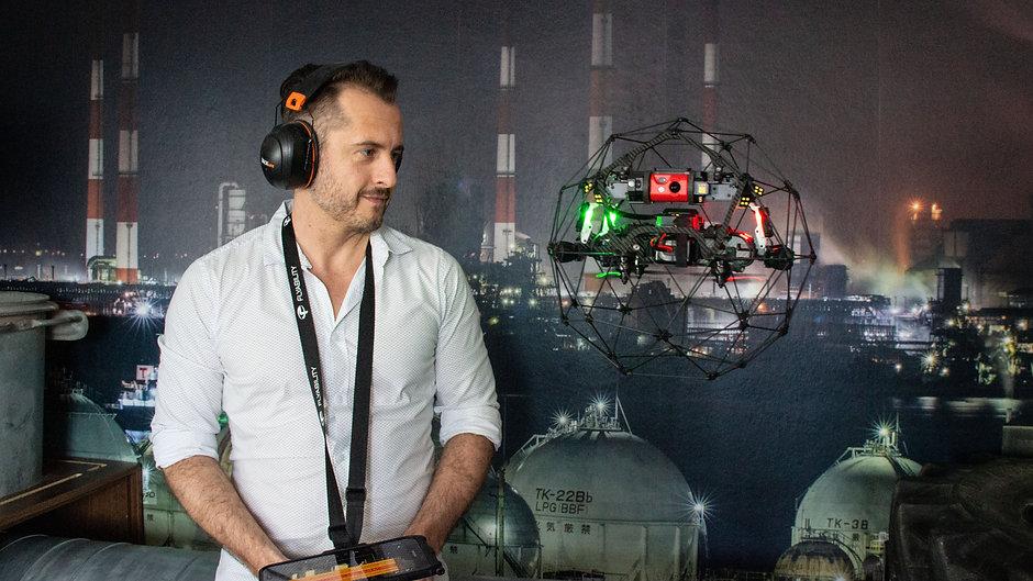 AEROVISION Drone Support im Einsatz