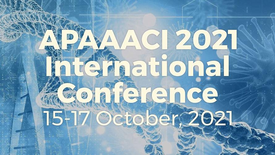 APAAACI 2021 International Conference Trailer