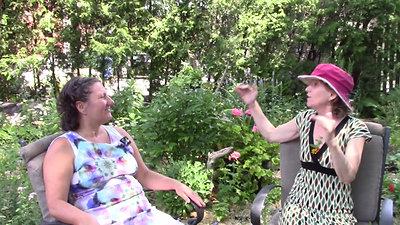 Causerie au jardin Partie 1 avec Anny Schneider