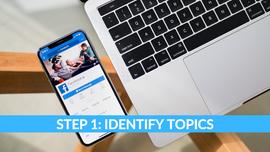 Step 1 Identifying Topics