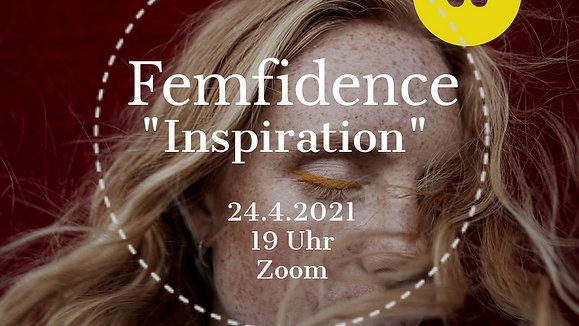 Femfidence April - INSPIRATION