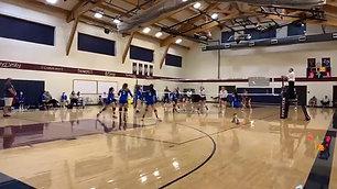 Varsity Volleyball @ Westlake Academy Blacksmiths