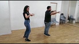 Répétition couple Mona et Hassen