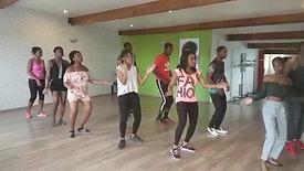 Cours de danse amis et famille Nadège et Eder