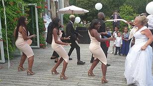 Entrée dansante Franco Gabonais Ethel et Patrick - Rennes
