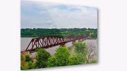 Dubuque Train Bridge