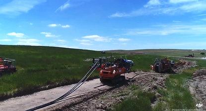 Marais Laying - Wind Farm MV cable installation - Crookwell II
