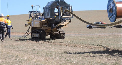 Marais Laying - Wind Farm MV cable installation - Hornsdale 2