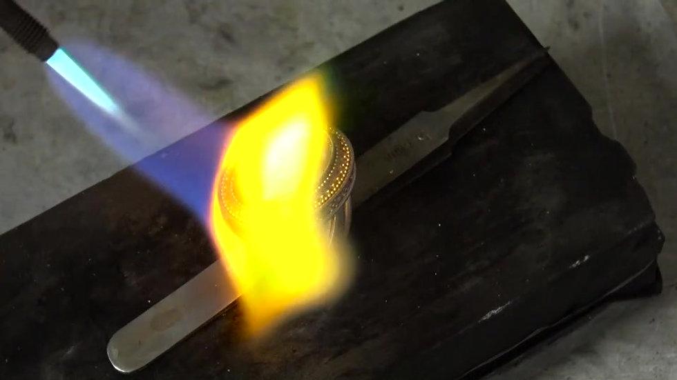 22k Gold on Argentium Project