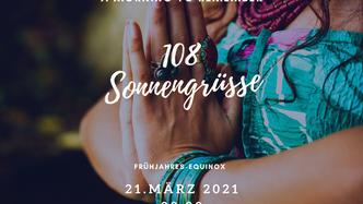 108 Sonnengrüsse