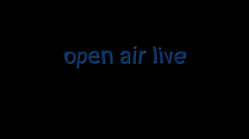 Open Air Live this Wednesday