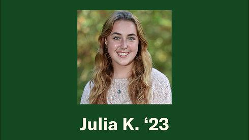 Julia K. '23