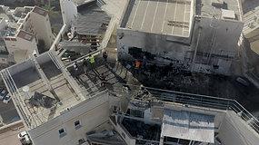 פגיעה ישירה בבניין בבאר שבע
