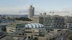 מבנים ממול הכנסת בירושלים