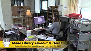 Milne Library Takeout Is Here PSA
