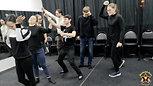 Фрагмент репетиции группы актерского мастерства