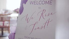 We Rise & Toast