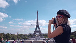 Jamila Wardknott en Paris