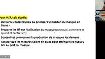 Utilisation des Masques - COVID 19 FR
