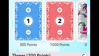 Video Tutorial: How does Canasta Score Keeper work?