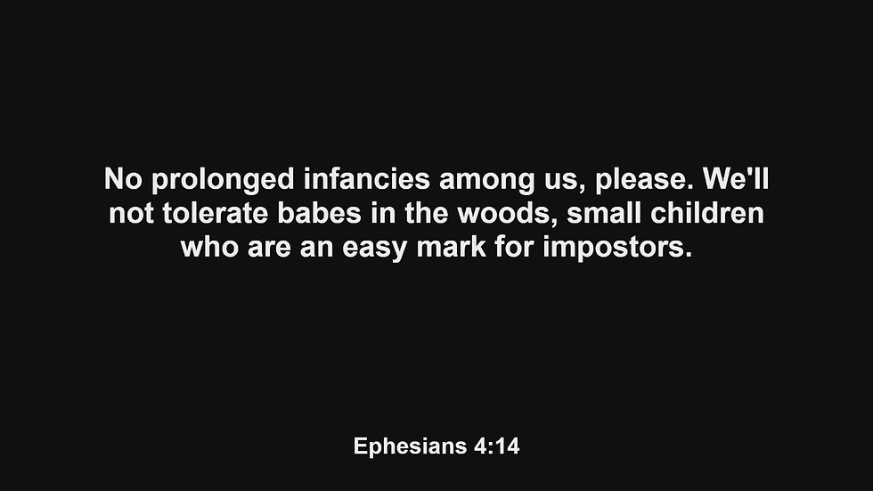 Bible Study 5/6/2021